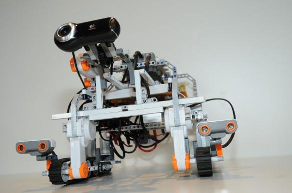 Mocup test robot Nasa