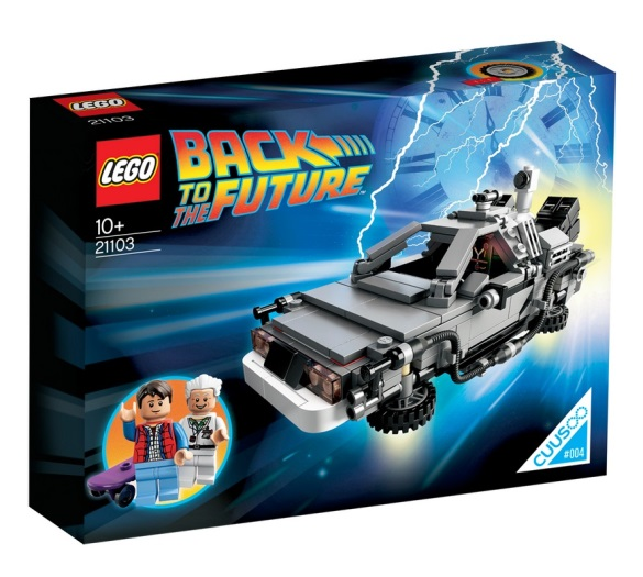 Lego Cuusoo Back To The Future Set