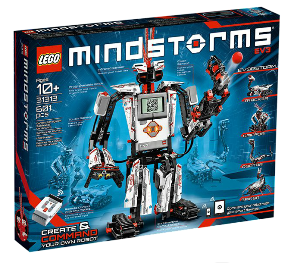Lego Mindstorms EV3 Set Box 31313