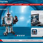 Nouveau site Lego Mindstorms