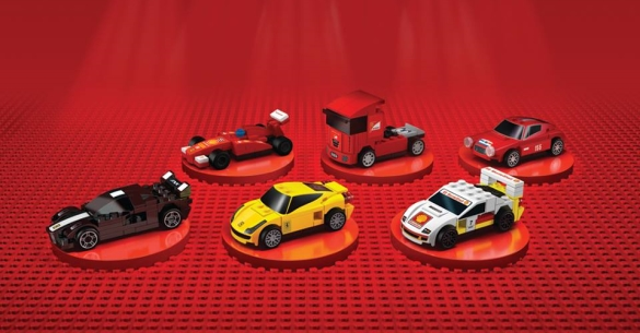 mindstorms lu une collection exclusive lego ferrari chez shell. Black Bedroom Furniture Sets. Home Design Ideas