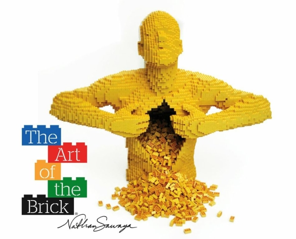 The art of the brick bruxelles