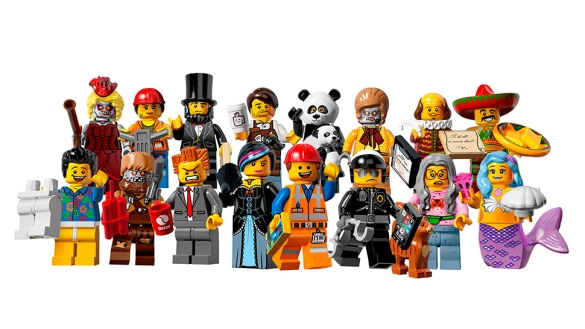 Minifigs series 12