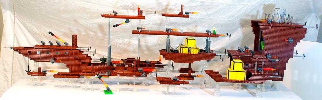 Lego Super Mario 3 Air Ship
