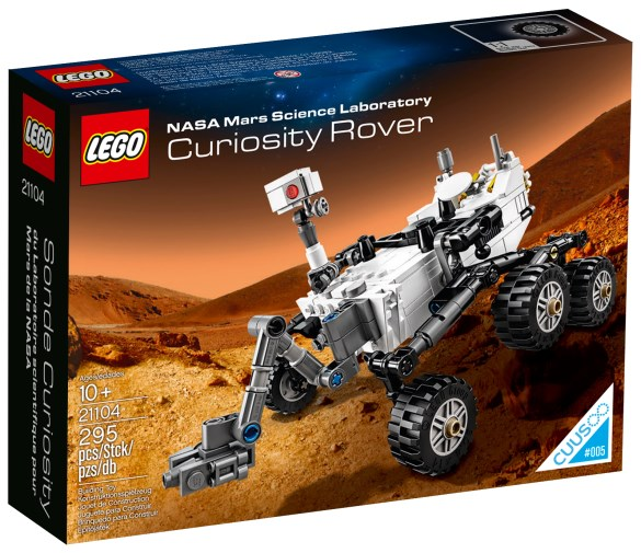 Lego Cuusoo Nasa Mars Science Laboratory Curiosity Rover