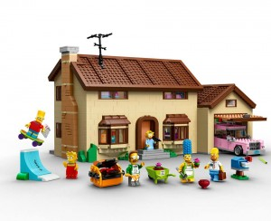 Lego Simpsons set 7106 maison