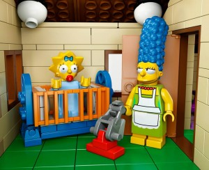 Lego Simpsons set 7106 Marge et Maggy