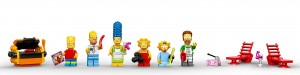 Lego Simpsons set 7106 minifigs
