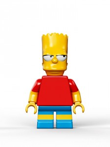 Lego Simpsons set 7106 Bart