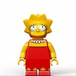 Lego Simpsons set 7106 Lisa