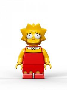 Lego Simpsons set 7106 Lisa