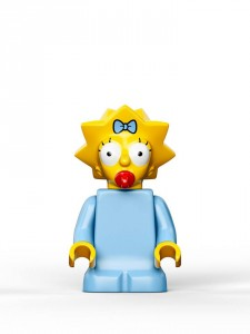 Lego Simpsons set 7106 Maggy