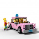 Lego Simpsons set 7106 voiture