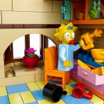 Lego Simpsons set 7106 Maggy cuisine