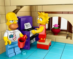 Lego Simpsons set 7106 Lisa et Homer