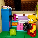Lego Simpsons set 71006 Lisa appareil photo