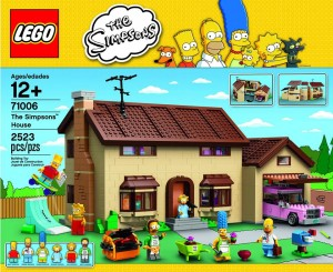 Lego Simpsons set 71006 couverture