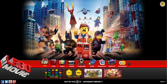The Lego Movie Site Internet