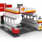 Lego Shell Petrol Station
