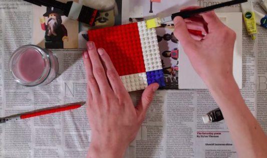 La peinture version Lego
