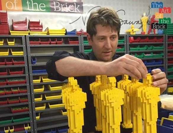 Nathan Sawaya Lego Oscars