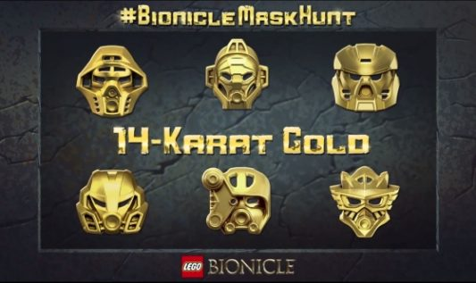 Concours Lego Bionicle Mask Hunt