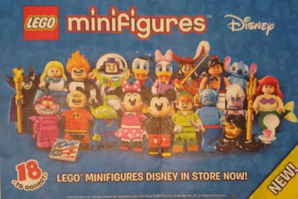 Lego Minifigures Disney 71012