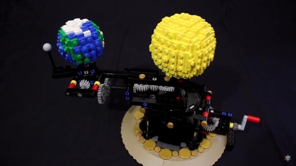 Planétaire Lego
